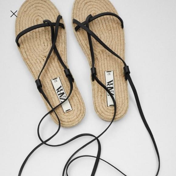 Zara Espadrilles Sandals NWT